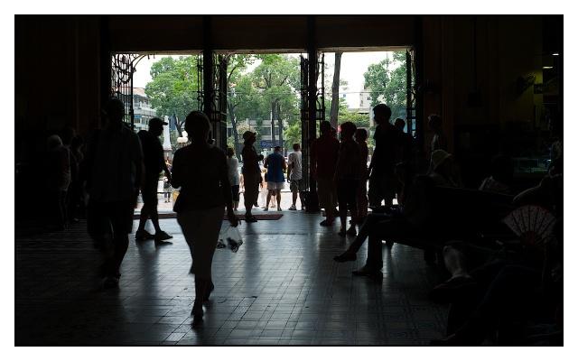 Adoro i controluce: ho fatto la stessa foto un po' di tempo fa in Mozambico
