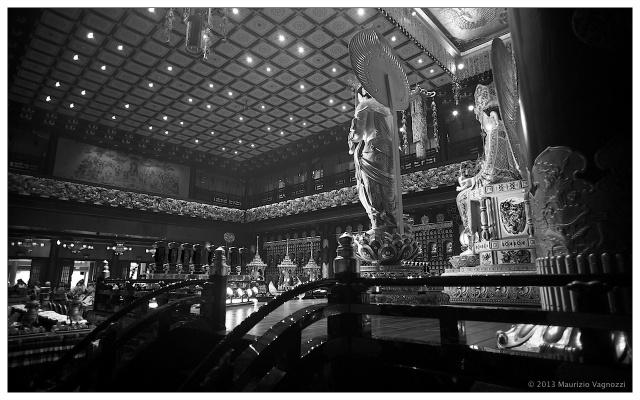 Il Buddha vigila sul tempio