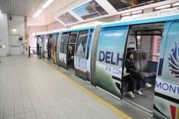 4 treni percorrevano il loop in contemporanea