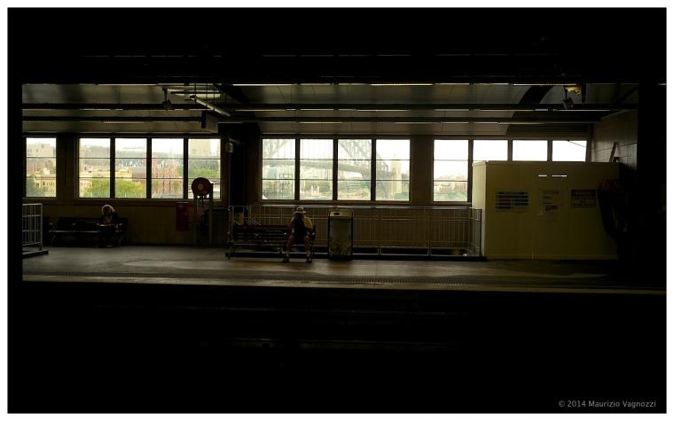 circular train station