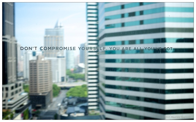 dont compromise